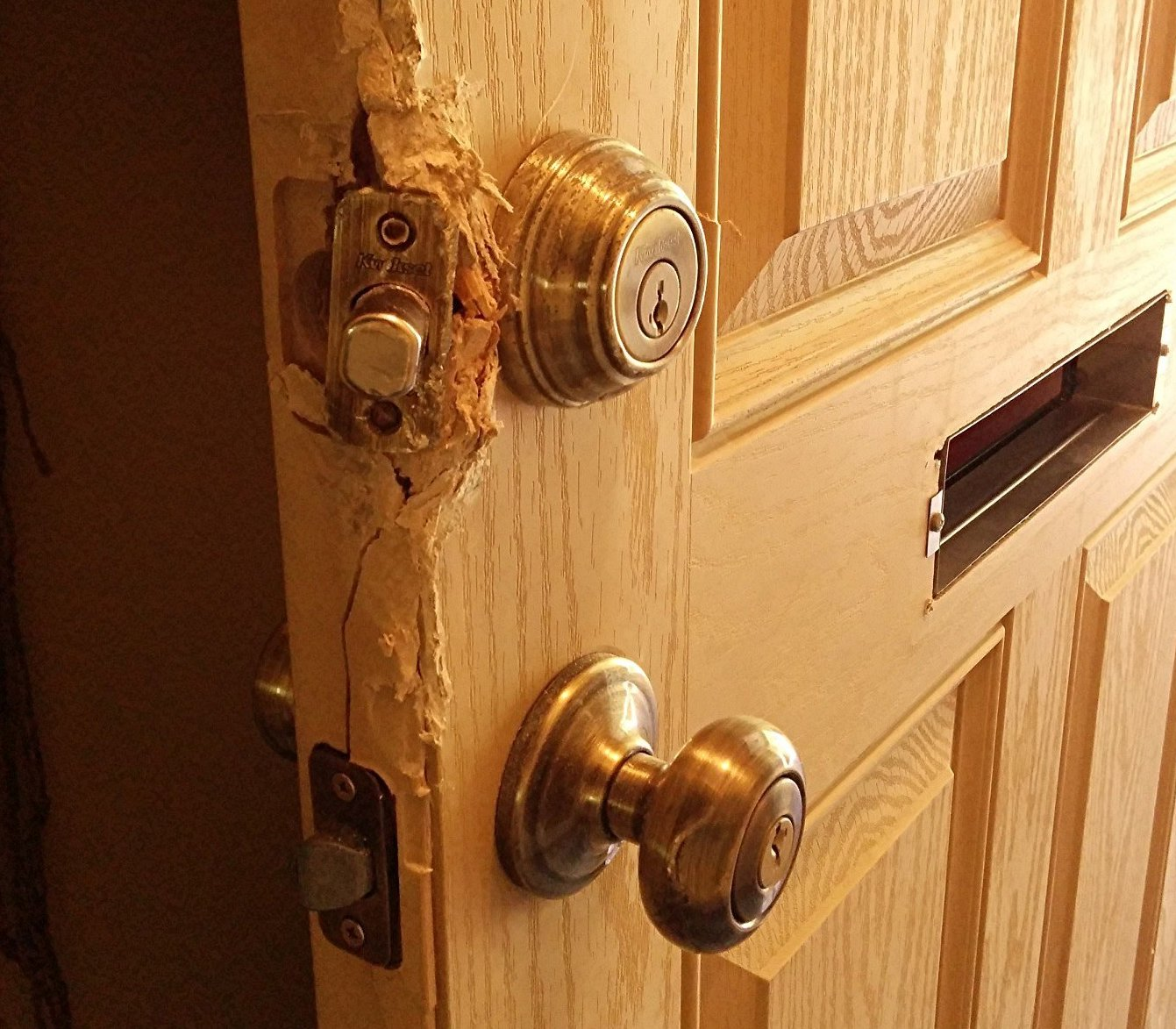 Deadbolt key lock repair Miami Shores